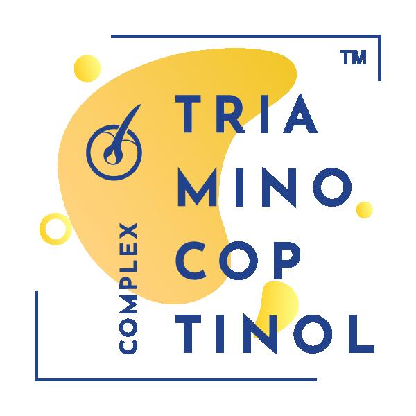 Triaminocoptinol™ : Αναστέλλει την 5-άλφα-αναγωγάση και εξαλείφει τα αρνητικά αποτελέσματα μετασχηματισμού της τεστοστερόνης σε DHT. Υποστηρίζει τη μείωση της υπερβολικής τριχόπτωσης και διεγείρει ενεργά την ανάπτυξη νέων τριχών.